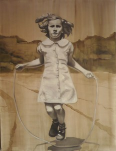 Barbara Nahmad, jumping rope, 2014