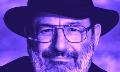 Il semiologo Umberto Eco