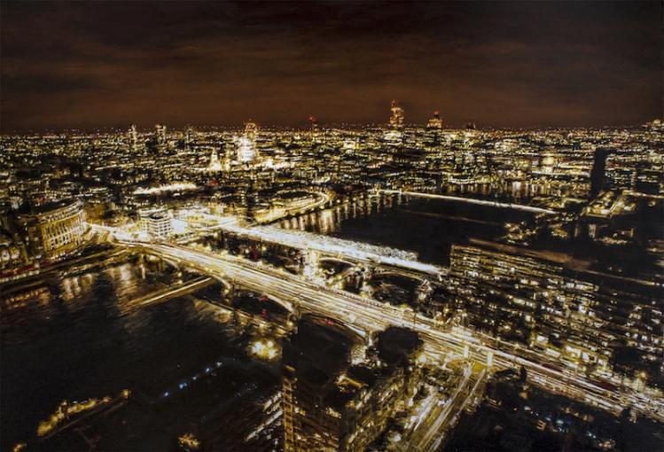 rto-4-280415--ottieri--london-bridge-night--2015--olio-su-tavola--cm-150x220-861200460