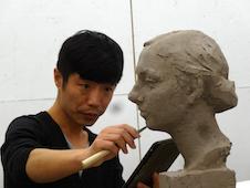 cinese scultore