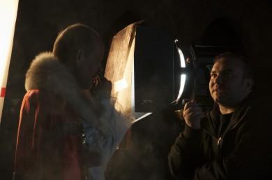 Il regista Fabio Cento sul set - Ph. Marzia Ortolan
