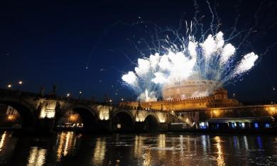 La Girandola a Castel Sant'Angelo