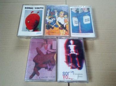 Cassette dei Sonic Youth