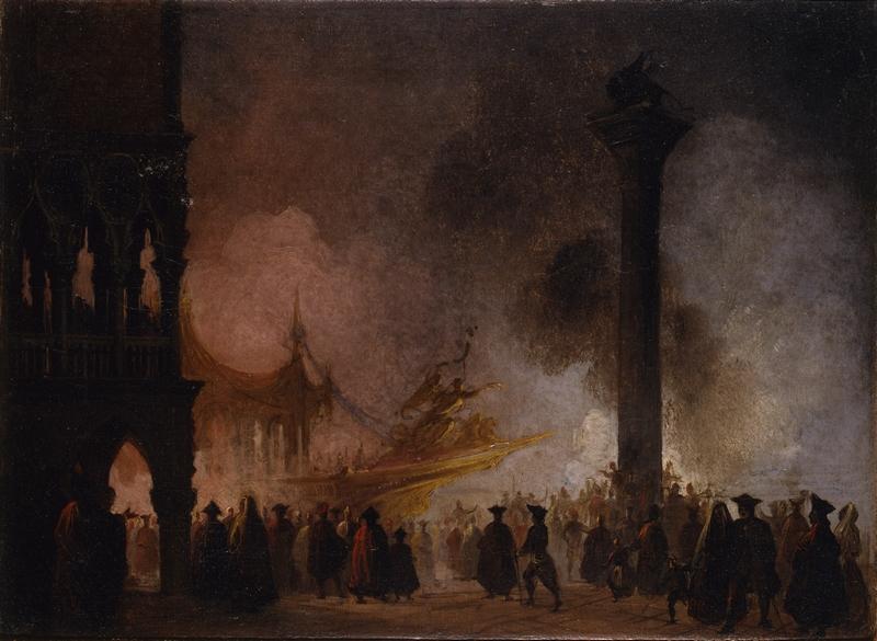 6. 1738-Caffi Ippolito_Venezia - Serenata a San Marco_inv1738_m da VGI