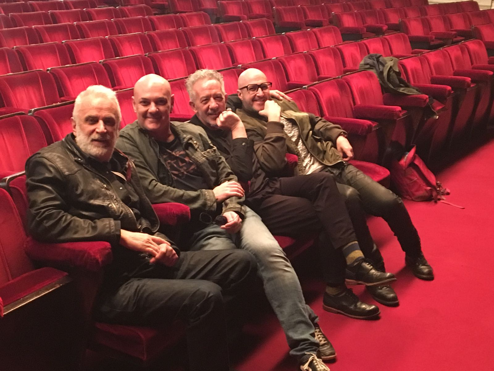Edoardo Sylos Labini con Sergio Pappalettera, Marco Lodola e Saturnino Celani