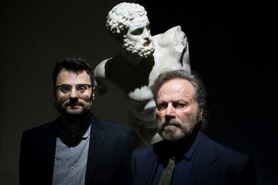 Gabriele Tinti, Franco Nero, Capitolini, courtesy Lorenzo Piacevoli