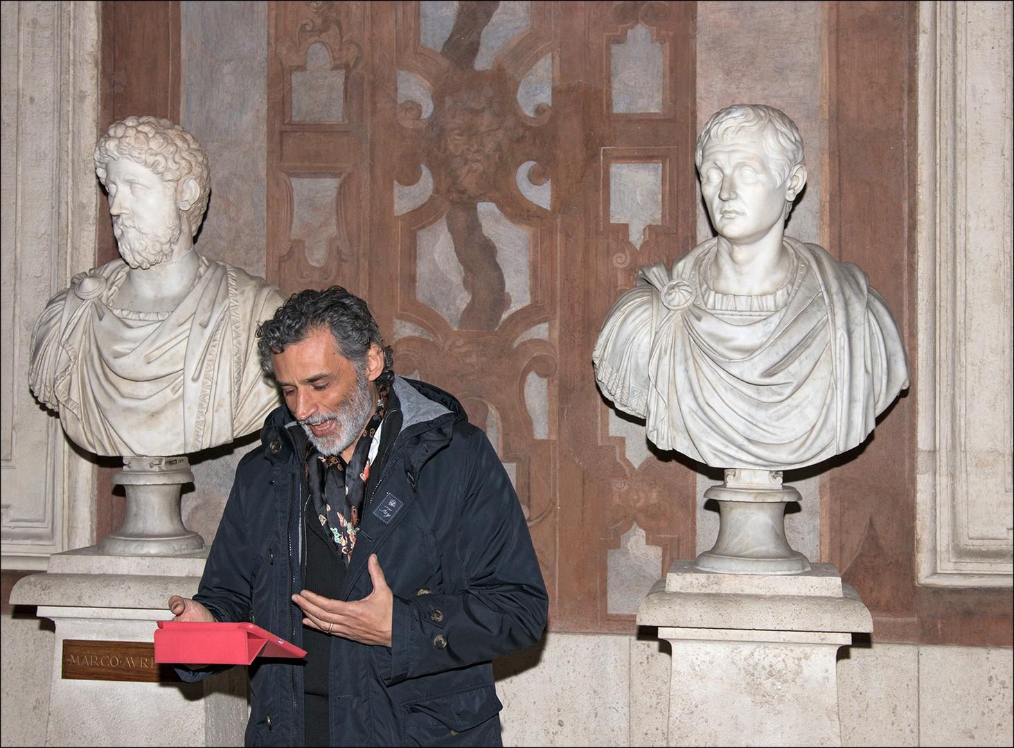 Enrico Lo Verso, Museo Nazionale Romano, courtesy Dino Ignani