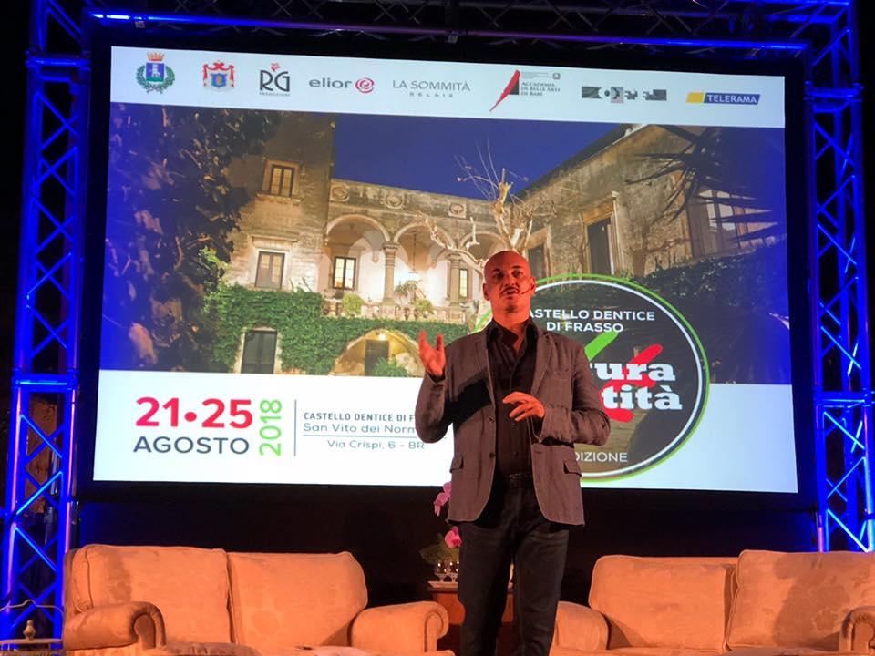 Si è conclusa ieri sera la prima edizione del Festival di CulturaIdentità, movimento e think tank culturale di cui Sylos Labini è fondatore.