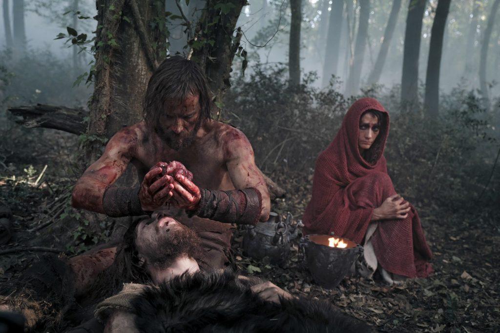 """""""Il Primo Re"""" di Matteo Rovere, con gli attori Alessio Lapice e Alessandro Borghi nei ruoli di Romolo e Remo, dal cui sangue nascerà la città di Roma."""