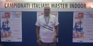 Alberto Peruzzo si è appena aggiudicato i Master 85 indoor di marcia