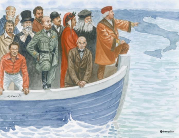 """Come Lamerica di Gianni Amelio, come La Nave dei Folli di Bosch, i nostri argonauti della cultura sono tornati per ricordarci che al mondo noi siamo e saremo nei secoli """"un popolo di poeti di artisti di eroi / di santi di pensatori di scienziati / di navigatori di trasmigratori"""" […]"""