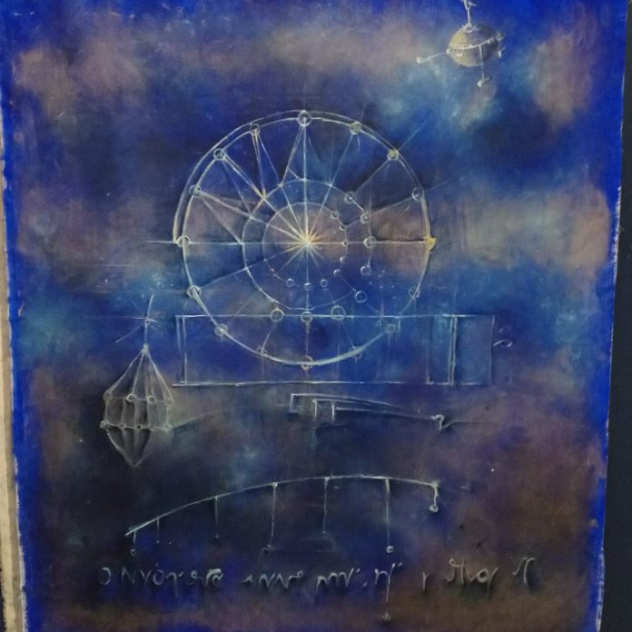 Corrado Veneziano re-inventa il Codice Atlantico