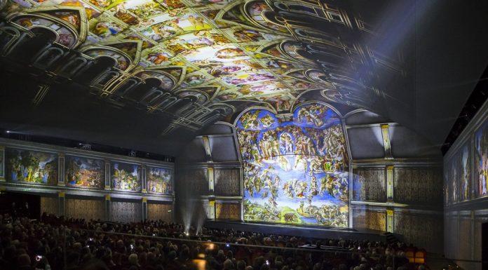 """""""Giudizio Universale"""", show immersivo nella Roma michelangiolesca"""