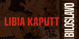 """""""Libia Kaputt"""", la guerra di Fausto Biloslavo narrata a fumetti"""