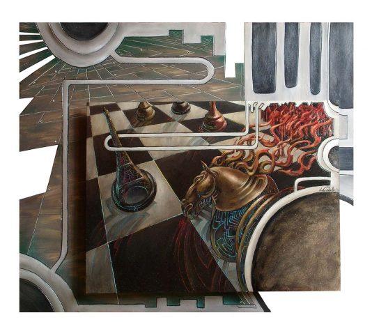 """Luca Corbellini, surreal-futurismo """"andante ma non troppo"""""""