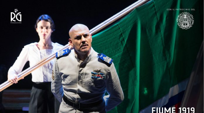 Lunedì 30 settembre al Teatro Manzoni di Milano andrà in scena lo spettacolo 1919 Fiume – Città d'arte e di vita