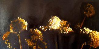 Vincenzo Lo Sasso, Fiori dell'Aglio, 2019, olio su tela, 70x100 cm (3)