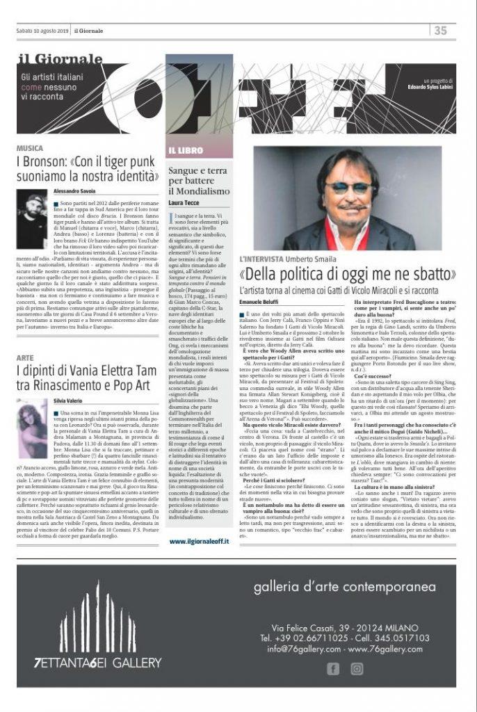 il giornale off intervista a umberto smaila di emanuele beluffi