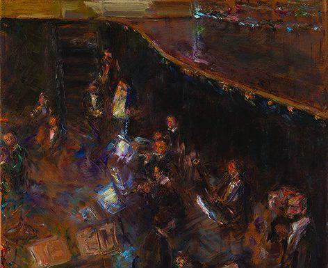 """""""Oltre il concerto"""", la mostra di Ada Munari alla Galleria Arianna Sartori di Mantova, fino al 12 settembre"""