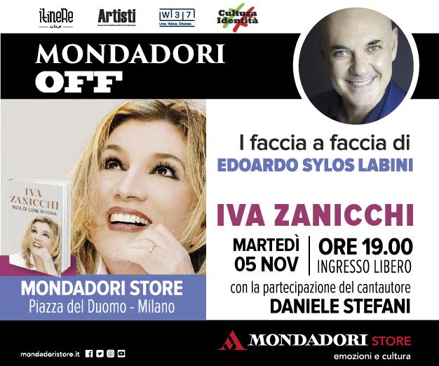 Il 5 novembre Iva Zanicchi ospite al Mondadori Off