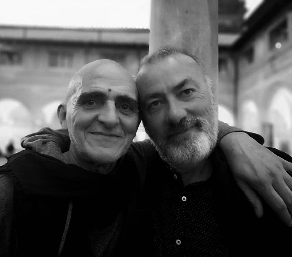 """Franco Arminio autore di """"L'Italia profonda"""" con Giovanni Lindo Ferretti, ha concesso un'intervista a OFF durante Libropolis a Pietrasanta"""