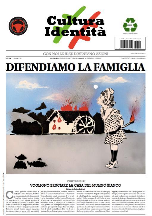 Diego Fusaro sul numero 8 di CulturaIdentità afferma e ri-afferma che il precariato non è solo lavorativo ma anche di ordine erotico