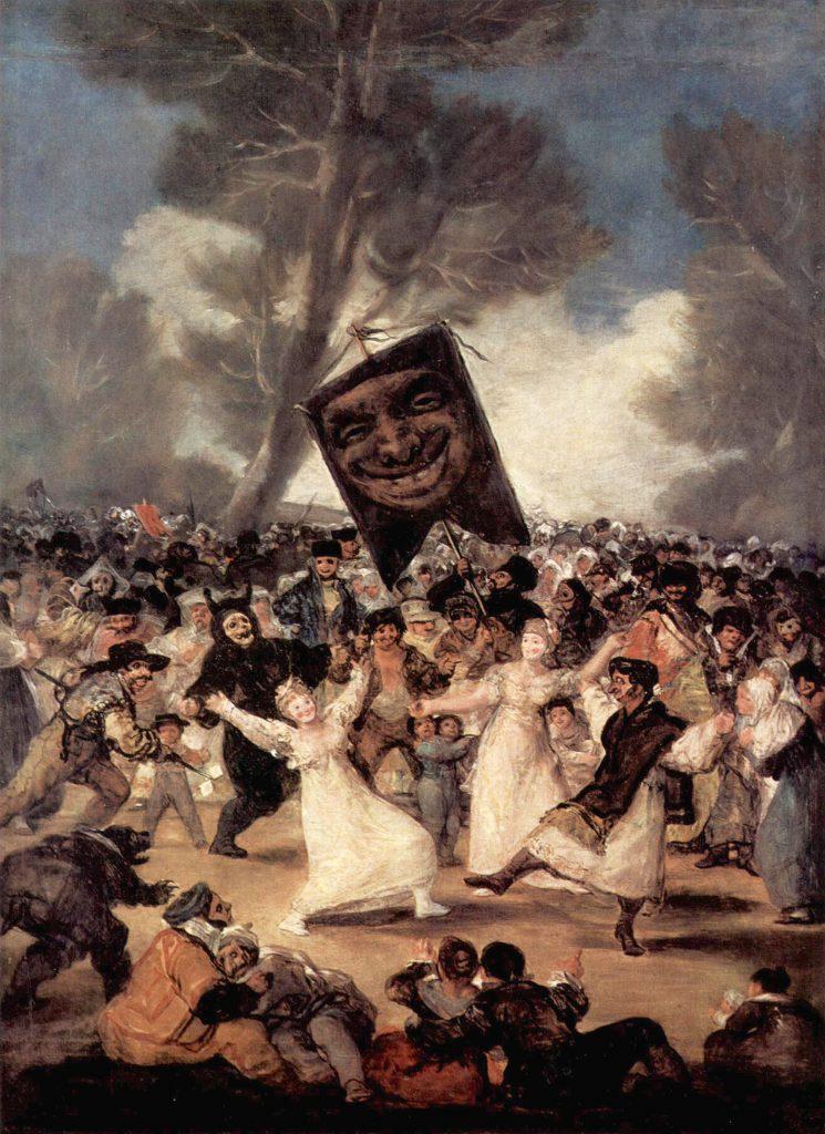 Anche nel dipinto di Goya c'era la...sardina, ma qualcuno se la mangiò
