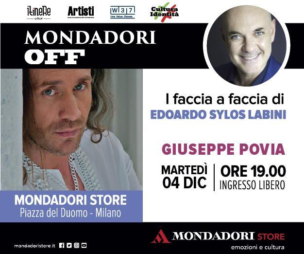 Povia ospite al Mondadori Store il 4 dicembre