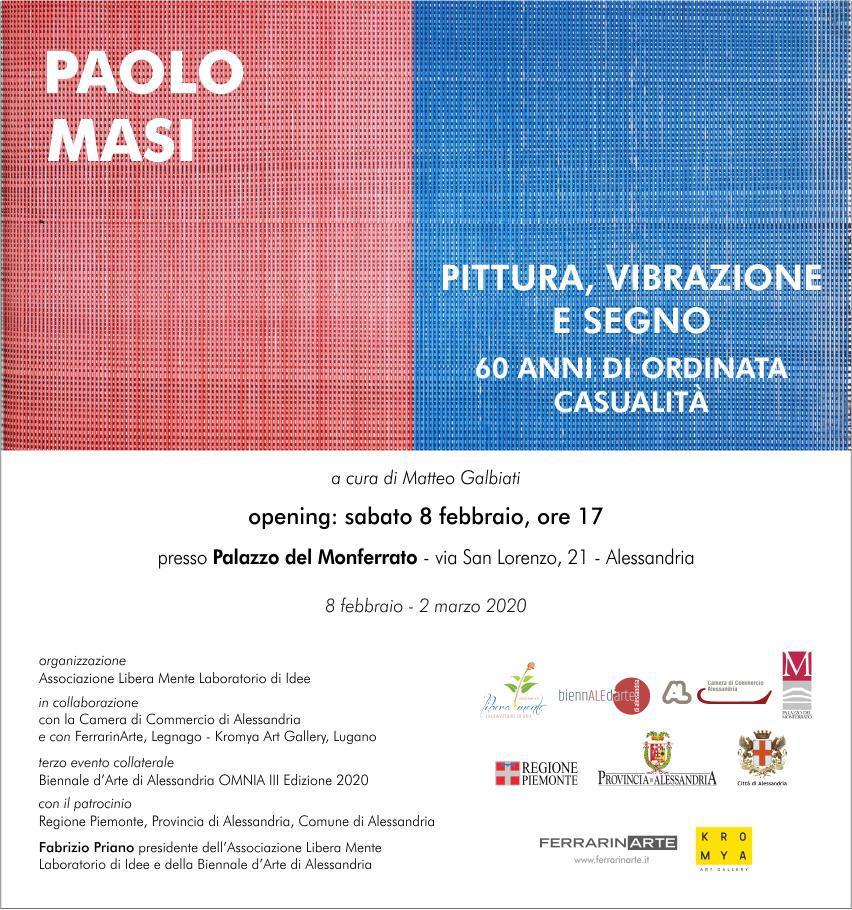 Paolo Masi apre la Biennale d'Arte di Alessandria-Omnia