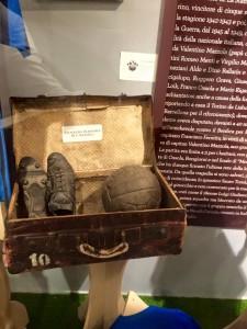 la valigia da trasferta di Valentino Mazzola