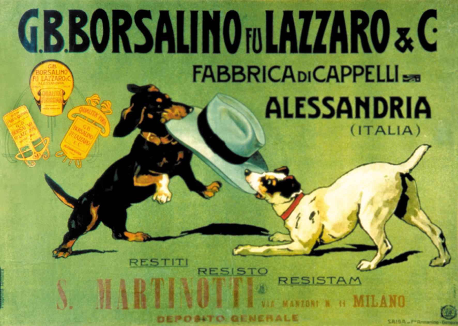 Borsalino City - 1 Lazzaro - Immagine concessa dalla Collezione Opere d'arte della Fondazione Cassa di Risparmio di Alessandria
