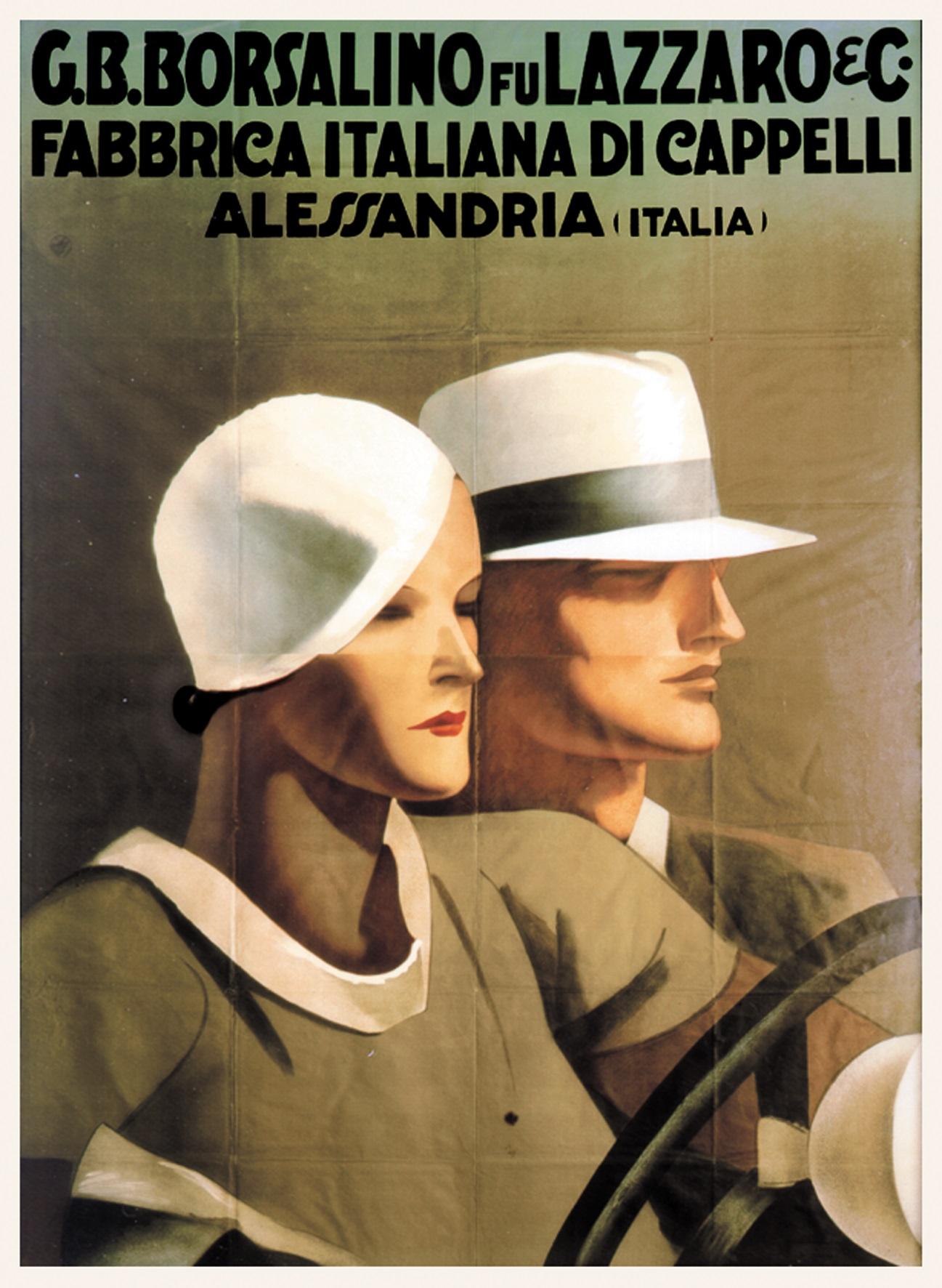 Borsalino City - 12 Lazzaro - immagine concessa da Archivio della Borsalino- Fototeca Civica di Alessandria
