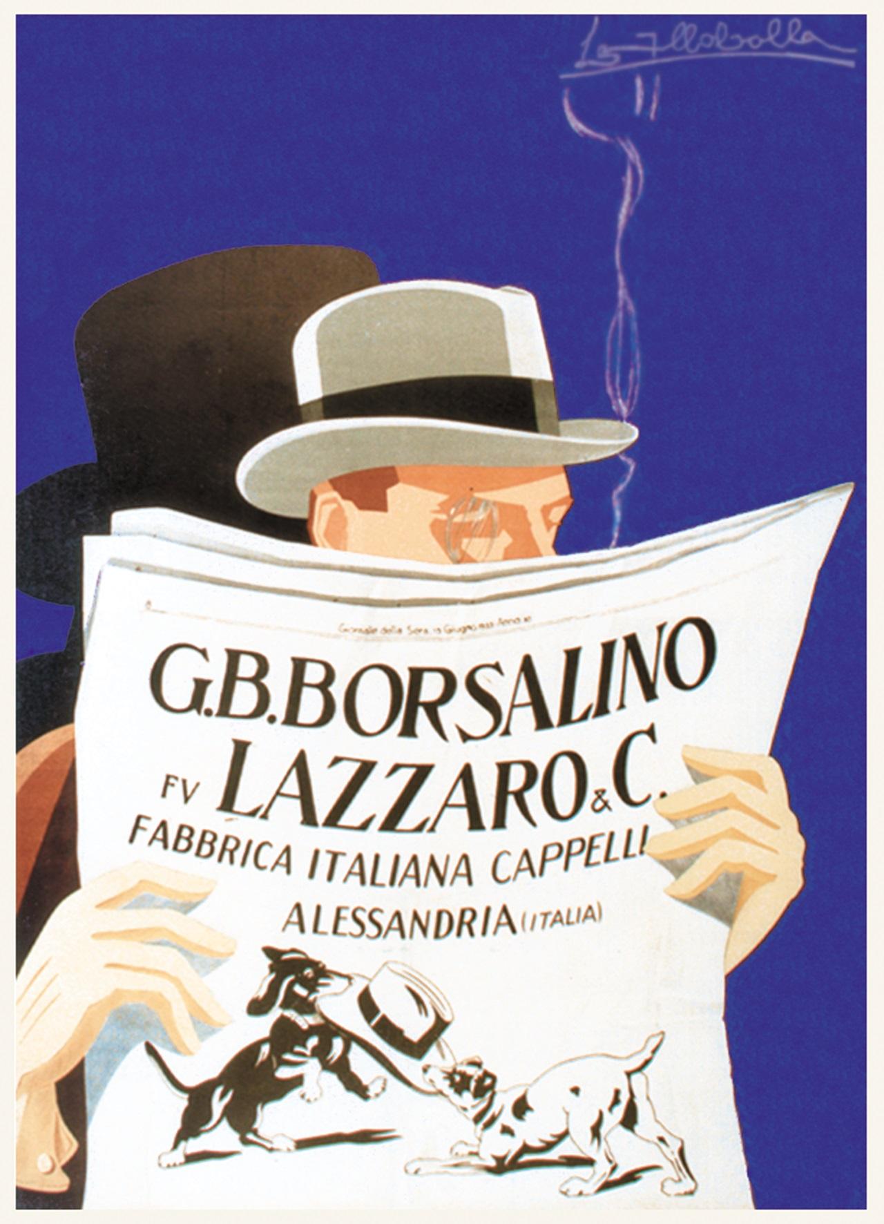 Borsalino City - 15 Lazzaro - Immagine concessa dalla Collezione Opere d'arte della Fondazione Cassa di Risparmio di Alessandria
