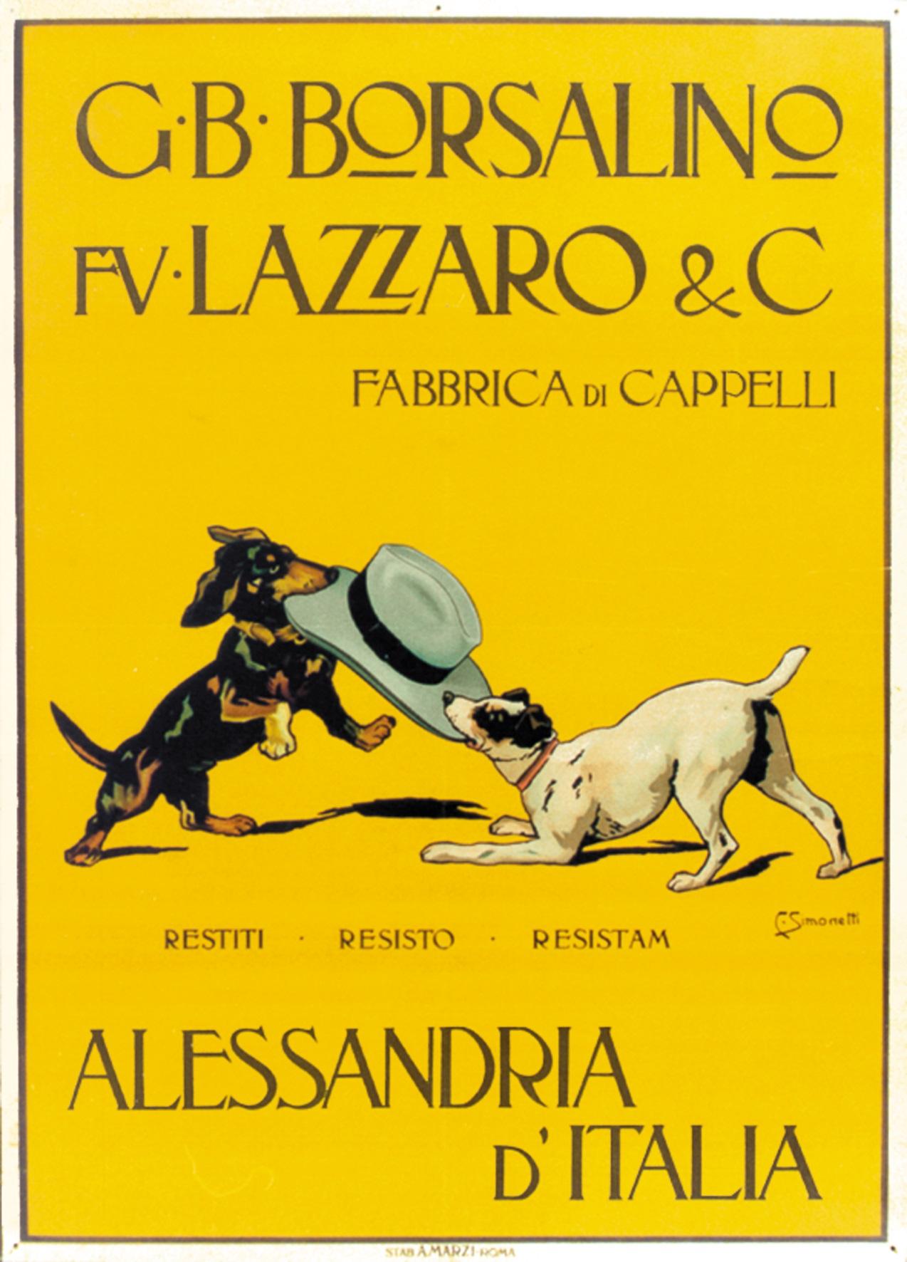Borsalino City - 5 Lazzaro - Immagine concessa dalla Collezione Opere d'arte della Fondazione Cassa di Risparmio di Alessandria