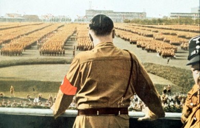 Hitler At Nazi Rally