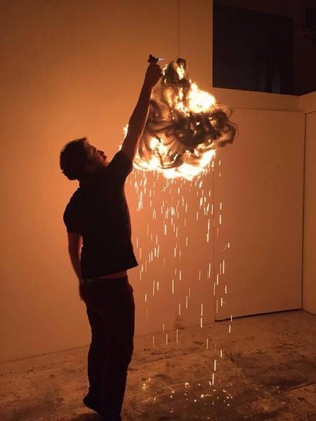 Post fata resurgo - performance - studio Francesco Diluca_ii