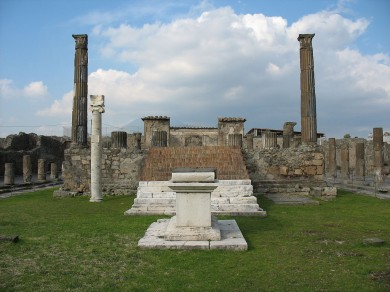 Pompei, Tempio di Apollo, Ph. Lord Pheasant
