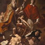 Giovanni Gasparro, San Pio V e San Carlo Borromeo difendono il Cattolicesimo dall'Islam e dall'eresia protestante