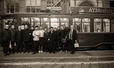Il tram dello chef Elior per gustare Milano fra cibo e arte
