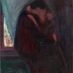 Edvard Munch,The Kiss, 1897, oil on canvas, 99x81 cm, Munch Museum, Edvard Munch [Public domain], via Wikimedia Commons