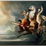 I CAVALIERI DELL'APOCALISSE olio su tela 205 x 305 cm 2011