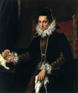 Lavinia Fontana, Portrait of Ginevra Aldrovandi Hercolani as Widow Oil on canvas, 115 x 90 cm Walters Art Museum, Baltimore