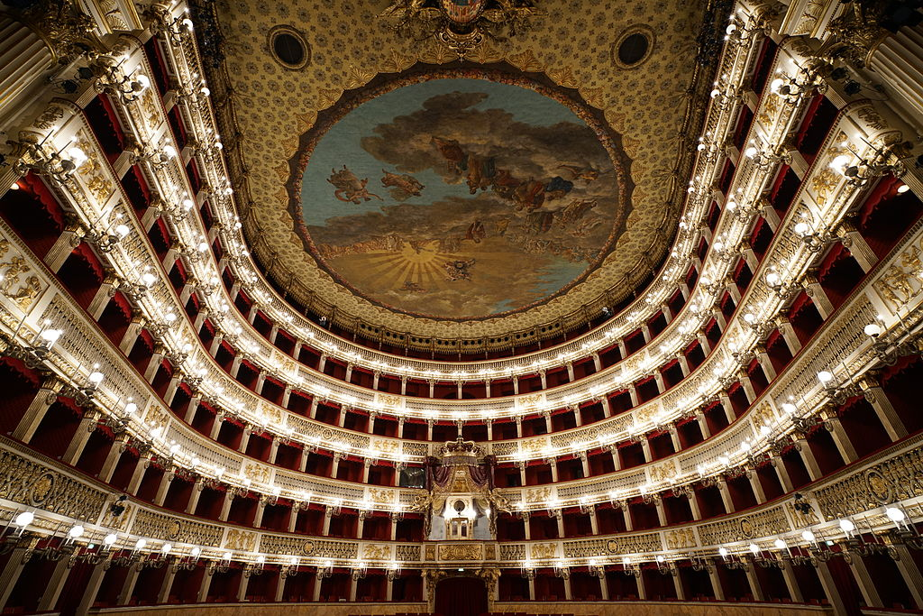 Teatro San Carlo [Public domain -Sony photographer], via Wikimedia Commons