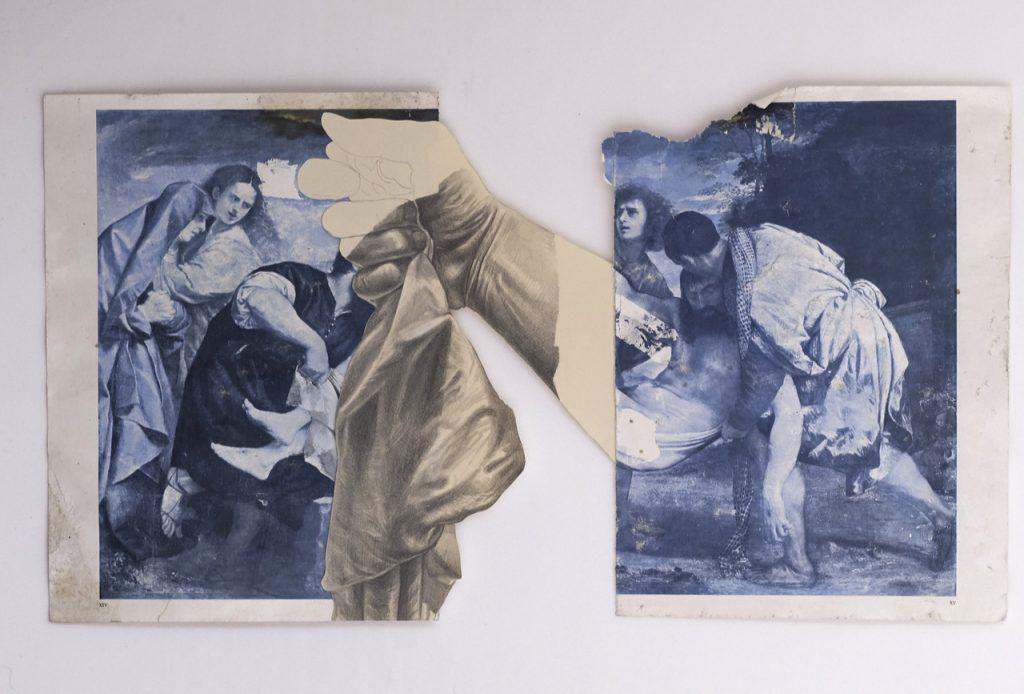 Giuseppe Ciracì, pittura e collage per il colore del tempo