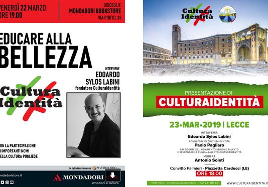 Continua il tour di presentazione del mensile #CulturaIdentità, in uscita ogni primo venerdì del mese in allegato gratuito al quotidiano Il Giornale, negli Store Mondadori di tutta Italia