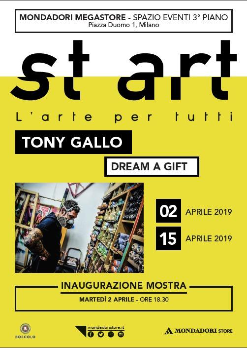 """st art: """"Dream a Gift"""" di Tony Gallo"""