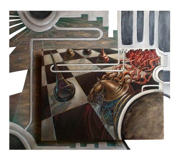 Luca Corbellini, surreal-futurismo