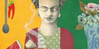 """L'ultimo libro di Michelangelo Rossato, accompagnato dal testo della scrittrice Chiara Lossani: """"Frida Kahlo nella sua casa Azul"""""""
