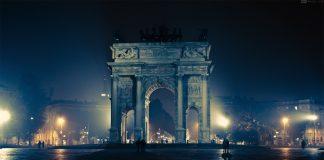 Di notte Milano si fa piccola