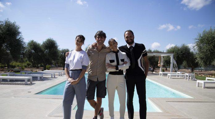 Da sin a dx_Kateryna Korchynska, il regista Adelmo Togliani, Giorgia Surina e Giorgio Consoli
